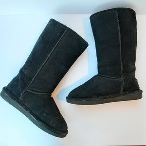 BearPaw tall Emma style suede boots